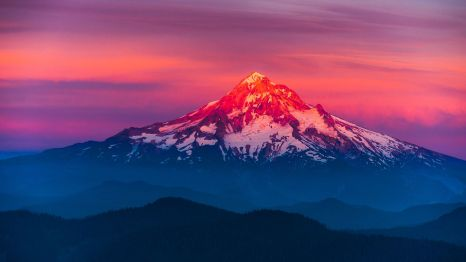 This one isn't mine, but I love it. This is my favorite mountain. :)